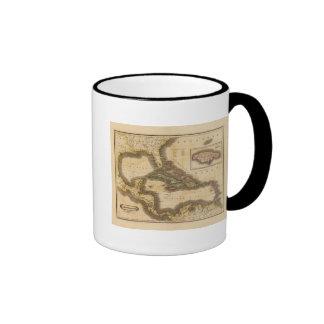 West India Islands Ringer Coffee Mug
