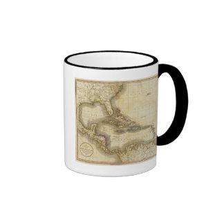 West India Isles Ringer Coffee Mug