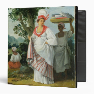 West Indian Creole Woman with her Black Servant, c Binder