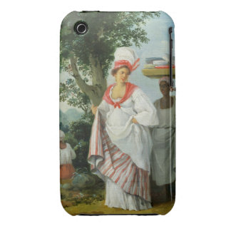 West Indian Creole Woman with her Black Servant, c iPhone 3 Case