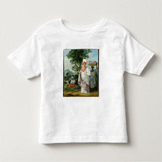 West Indian Creole Woman with her Black Servant, c Toddler T-shirt