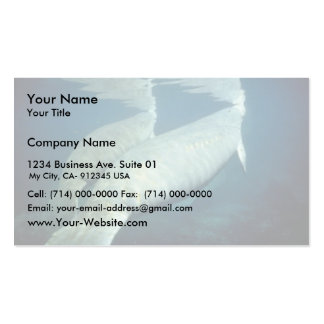West Indian manatee Business Card Template