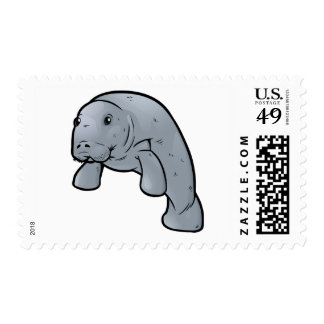 West Indian Manatee Postage Stamp