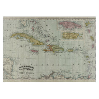 West Indies 11 Cutting Board