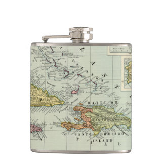 West Indies 11 Flask