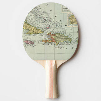 West Indies 11 Ping Pong Paddle