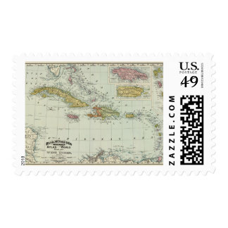 West Indies 11 Postage
