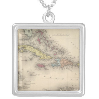 West Indies 12 Silver Plated Necklace