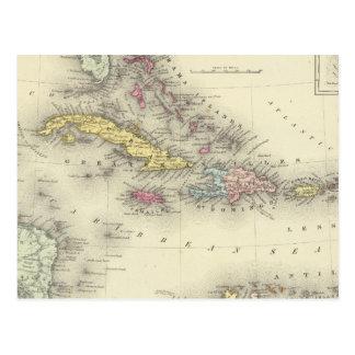 West Indies 13 Postcard
