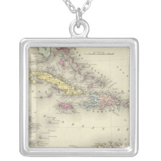 West Indies 13 Silver Plated Necklace