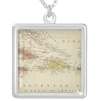 West Indies 14 Silver Plated Necklace