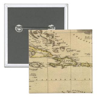 West Indies 15 Button