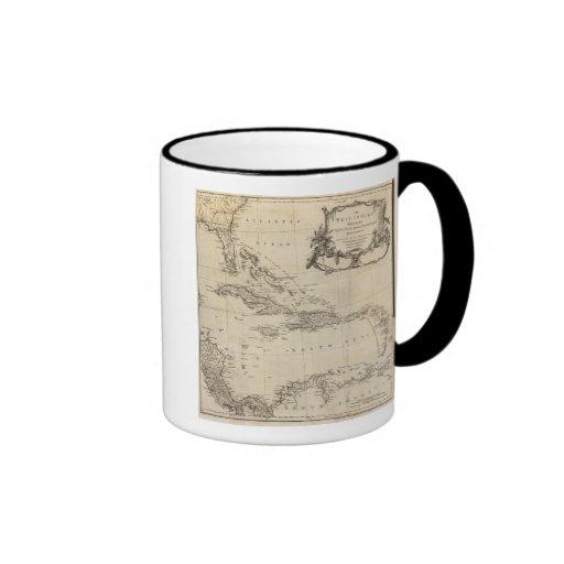 West Indies 15 Coffee Mugs