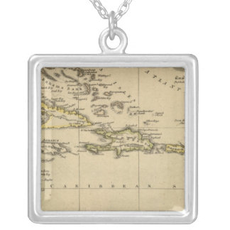 West Indies 15 Silver Plated Necklace