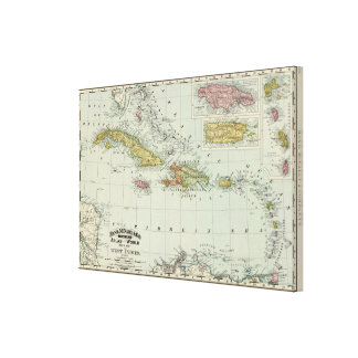 West Indies 19 Canvas Print