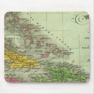 West Indies 21 Mouse Pad
