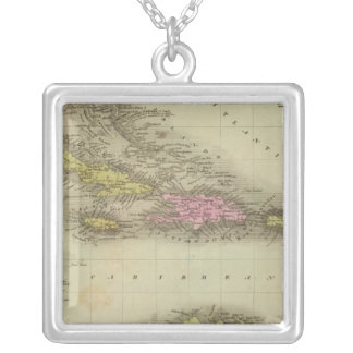 West Indies 23 Silver Plated Necklace