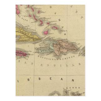 West Indies 5 Postcard