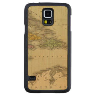 West Indies 6 Carved® Maple Galaxy S5 Slim Case