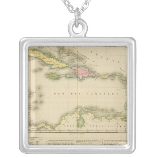 West Indies 9 Personalized Necklace