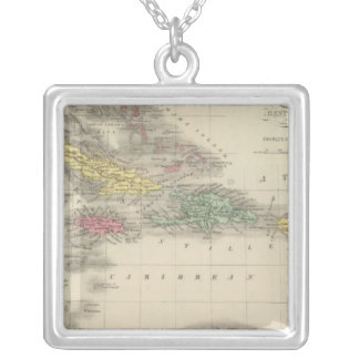 West Indies 9 Silver Plated Necklace
