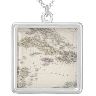 West Indies and Central America Silver Plated Necklace