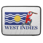 West Indies Cricket Player Sleeve For MacBooks
