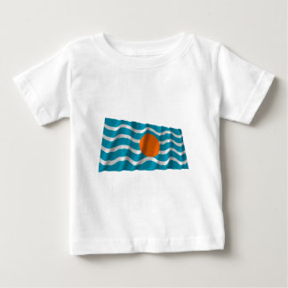 West Indies Federation Waving Flag Baby T-Shirt