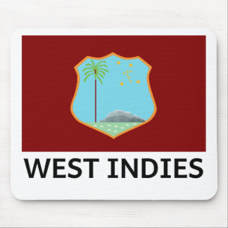 West Indies Flag Mouse Pad