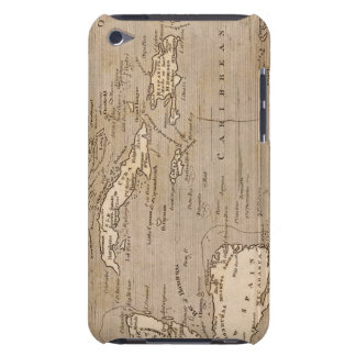 West Indies Map by Arrowsmith iPod Touch Cover
