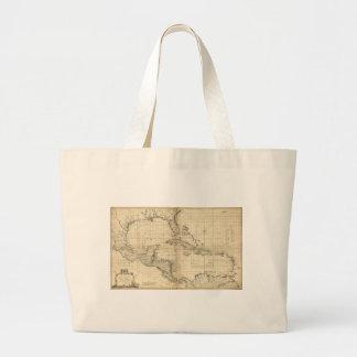 West Indies Map by T. Bowen & J. Speer (1774) Large Tote Bag