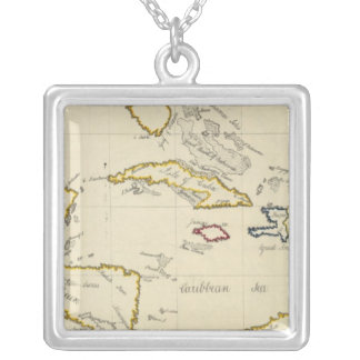 West Indies Silver Plated Necklace
