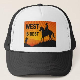 WEST IS BEST.jpg Trucker Hat