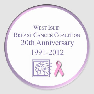 West Islip Breast Cancer Coalition Sticker