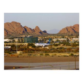 West Jet Postcard