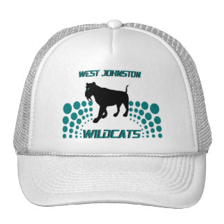 WEST JOHNSTON WILDCATS CAP TRUCKER HAT