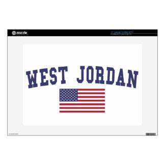 West Jordan US Flag Laptop Skins