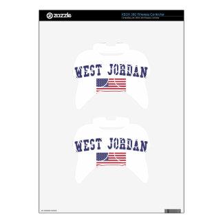 West Jordan US Flag Xbox 360 Controller Decal