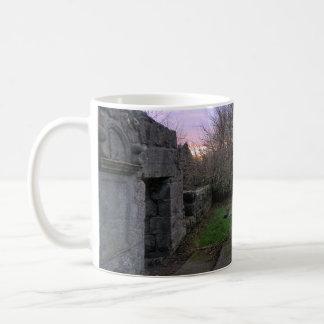 West Kirk Ruins: Outlander's Black Kirk Classic White Coffee Mug
