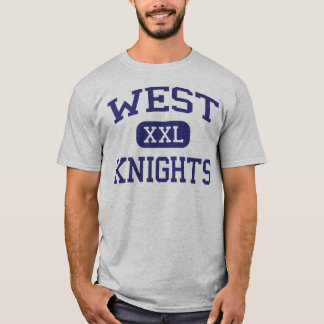 West - Knights - Jr High School - Roosevelt Utah T-Shirt