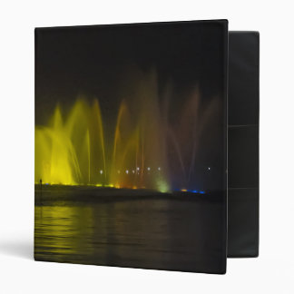 West Lake Colorful Light-Show Binders