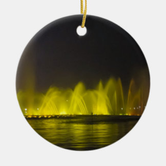 West Lake Colorful Light-Show Ceramic Ornament