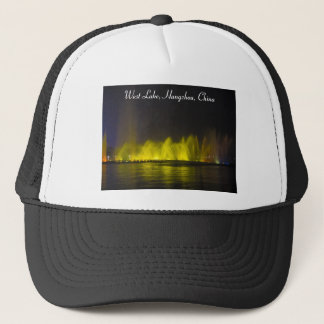 West Lake Colorful Light-Show Trucker Hat