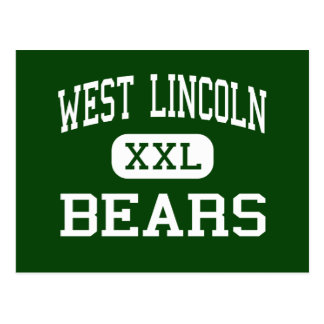 West Lincoln - Bears - High - Brookhaven Postcard