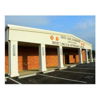 West Lincoln School - Jack Case Gymnasium Postcard