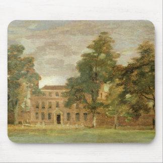 West Lodge, East Bergholt (oil on paper laid on pa Mouse Pad