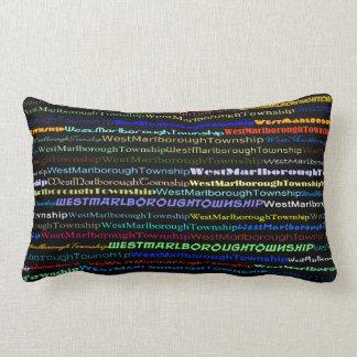 West Marlborough Township TextDsgn I Lumbar Pillow