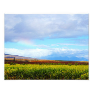 West Maui From Molokai Photo Print