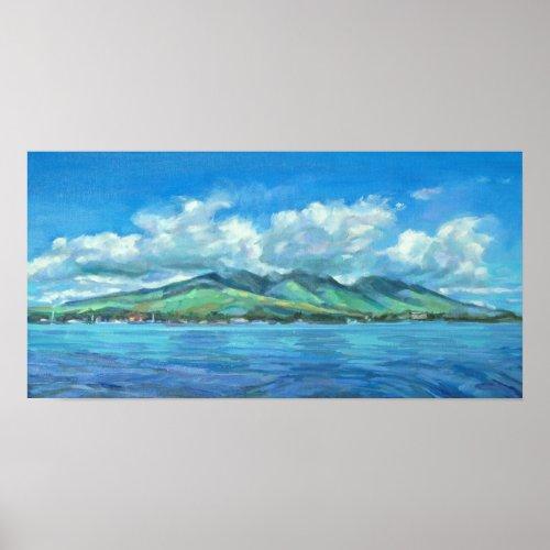 West Maui origninal paintng print