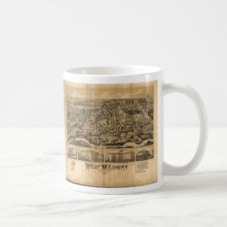 West Medway Massachusetts (1887) Coffee Mug